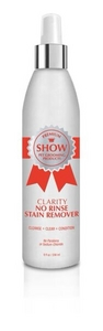 CLARITY No Rinse Stain Remover 3-in-1 Spot Wash [Size 8 oz]