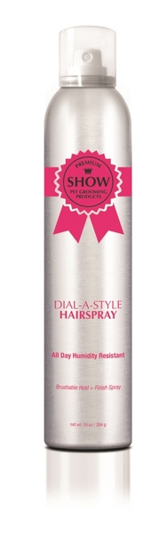 DIAL-A-Style Flexible Hold Hairspray (10oz aerosol)