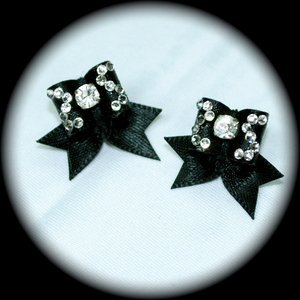 Maltese Bows - Style S - Fancy CZ Squiggles