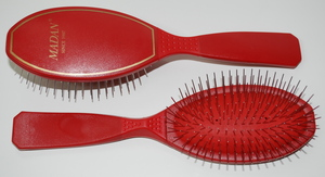 Madan Pin Brush: Medium Size, Red (Medium)