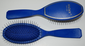 Madan Pin Brush: Medium Size, Electric Blue (Very Soft)