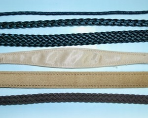 "Custom Toy lead - 3/8"" Braided Suede Neckpiece"